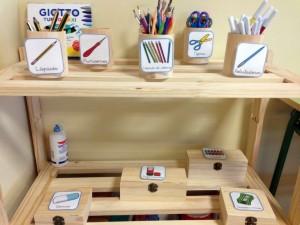 Ejemplo de uso en el Entorno Escolar. Colegio Antonio de Nebrija. Fuente: ARASAAC
